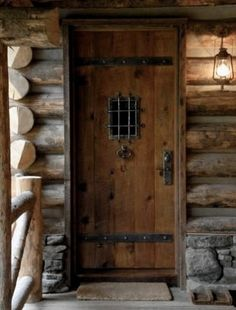 Perfect Rustic Cabin Doors Rustic Cabin Doors - This Perfect Rustic Cabin Doors gallery was upload on February, 15 2020 by Kole Rempel. Here latest Rustic Cabin Doors gallery co. Cabin Doors, Guest Cabin, Cozy Cabin, Deco Nature, Cool Doors, Little Cabin, Log Cabin Homes, Log Cabins, Rustic Cabins