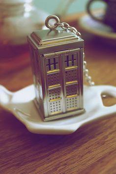 my Tardis tea infuser <3