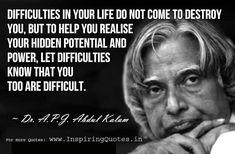 Famous A. P. J. Abdul Kalam Quotes