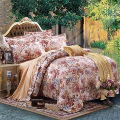 Find More Bedding Sets Information about European Jacquard Cotton Bedding Sets King Queen Size 4pcs Duvet Cover Sheet fundas nordicas cama de matrimonio paris bedding,High Quality bedding,China sheet metal deep drawing Suppliers, Cheap bedding full comforter sets from Top Qulity Human Hair Factory on Aliexpress.com