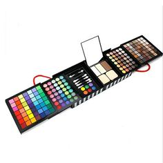 FantasyDay Pro 177 Colors Large Eyeshadow Palette Makeup Cosmetic Contouring Kit Combination with Blusher / Concealer - Ideal for Professional and Daily Use ** More info could be found at the image url.