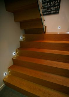 Illuminate your stair case with Collingwood lighting available at  http://www.rselectricalsupplies.co.uk/
