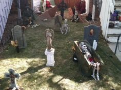 graveyard decorations