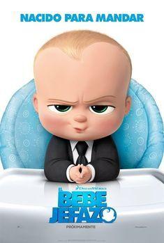 Poster De El Bebe Jefazo The Boss Baby Bebe Jefazo Jefe En Panales Pelicula Posters Bebe