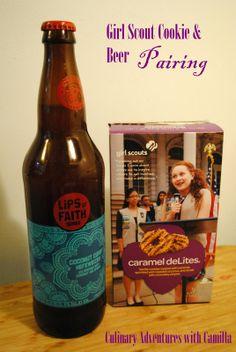 Girl Scout Cookies   Beer Pairings