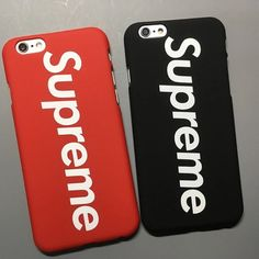This is a very nice Supreme case for iPhone. Comes in red or black. Fits on 5/5S/SE/6/6 Plus/6S Plus/7/7 Plus  You should receive within 2-4 weeks.
