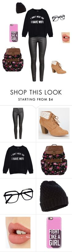 """""""My dream look"""" by selenakellylolljee on Polyvore featuring H&M, Qupid, Accessorize, Charlotte Tilbury and Casetify"""