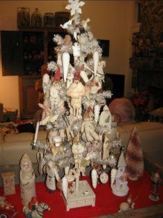 Incredible collection of german cotton ornaments for Nostalgische weihnachtsdeko