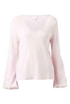 Slouchy V Neck Top | Clothing
