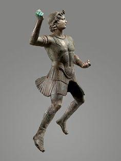 Equestrian statue of Alexander the Great. Hellenistic Art II - II s. BC. BC Bronze.