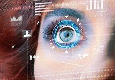 Biometria w służbie bezpiecznych płatności Augmented Reality Technology, Futuristic Technology, Technology Design, Cool Technology, Spy Girl, Mobile Security, Space Games, Future Tech, Science Art