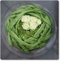 Florist Annette von Einem; green beans