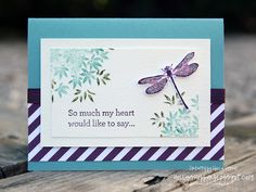 Holly's Hobbies: Awesomely Artistic and An Open Heart from Stampin' Up! combined to make this sympathy card.