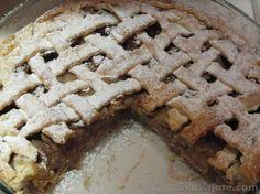 Američka pita od jabuka - poslužite toplo