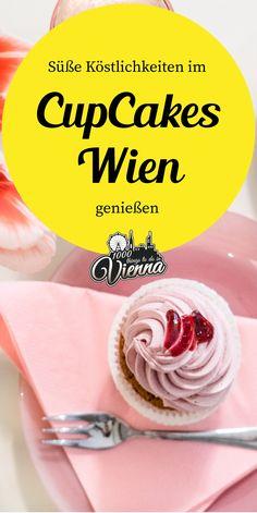 Die buntesten Cupcakes findest du im CupCakes Wien im 8. Bezirk - Ein wahres Erlebnis fürs Auge und den Gaumen. Cupcakes, Vienna, Icing, Desserts, Coffee, Food, Coffee Cafe, Eye, Tailgate Desserts