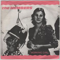 "The Members - Working Girl, 7"" vinyl single, Albion records, c.1981 #vinyl #newwave"