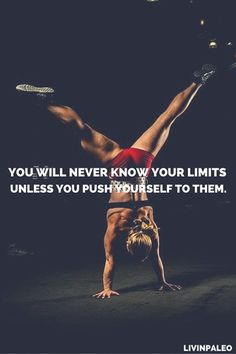 Inspirational Fitness Quotes to Motivate You You will never know your limits unless you push yourself to them.You will never know your limits unless you push yourself to them. Fitness Workouts, Sport Fitness, Fitness Tips, Fitness Goals, Health Fitness, Fitness Studio Motivation, Fit Girl Motivation, Health Motivation, Weight Loss Motivation