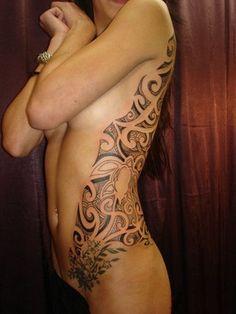 Tattoo's For > Polynesian Tribal Tattoo For Women
