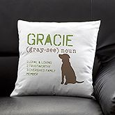 """available in 4 colors (pictured is Sage), different taupe silhouettes (there's a great scotty/westie) and your choice of attributes -14"""""""