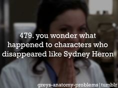 I've got Greys Anatomy Problems.... But seriously though? What happened to them...