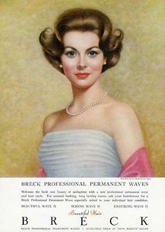 1963 Breck Girl! #hair | Advertising