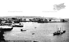Plymouth, Royal William Victualling Yard, Stonehouse 1890, from Francis Frith