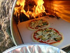 Garbage Can Pizza Oven