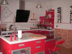 las cocinas rojas