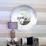 """- großer Wandspiegel mit """"Teller- Rahmen"""" - PURE VELVET - Interior & Home Decoration"""