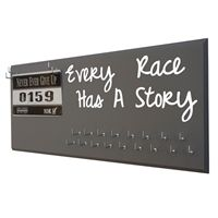 Every race has a story - medal hanger - Use our running medal holder to display all your race medals. We offer a huge variety of medal hanger with running quotes for women and men. Our medal displays are the most acclaim on the web. Starting at$24.99 only.