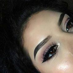 Imagem de girl and make up Kiss Makeup, Glam Makeup, Makeup Inspo, Makeup Inspiration, Beauty Makeup, Eye Makeup, Hair Makeup, Hair Beauty, Gorgeous Eyes