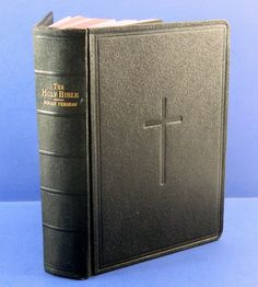 The Holy Bible Douay Version Catholic 1938 by QueeniesCollectibles, $49.99