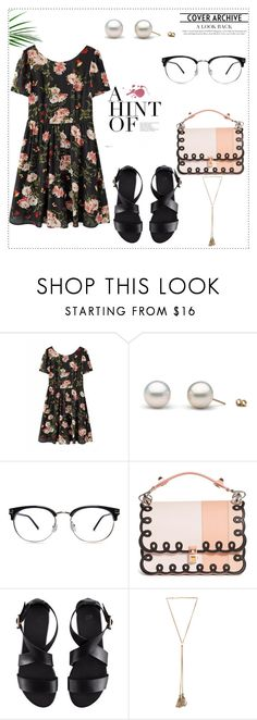 """Sin título #987"" by lululafitte on Polyvore featuring moda, Fendi, H&M y Chloé"