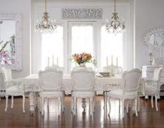 Elegant feminine dining room design ideas (15)