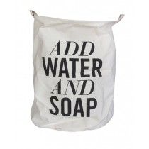 "Wäschesack ""Add Water and Soap"""