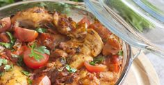 This Chicken Comes Out So Tender And Has Such A Warm, Full Flavor! We Can't Get Enough!   Chicken, Tomatoes and Casseroles