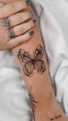 Unique Butterfly Tattoos, Arm Tattoos, Mini Tattoos, Tatoos, Soul Tattoo, Piercings, Ink, Creative Tattoos, Jenni
