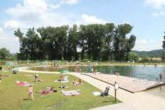 Natural Swimming Pool Biotop Prague, Golf Courses, Dolores Park, Urban, Travel, Viajes, Destinations, Traveling, Trips