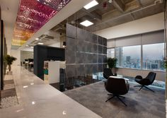 Covestro office interior design