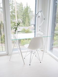 Home office Decor, Furniture, House, Interior, Home Office, Home, Deco, Eames Chair, Inspiration