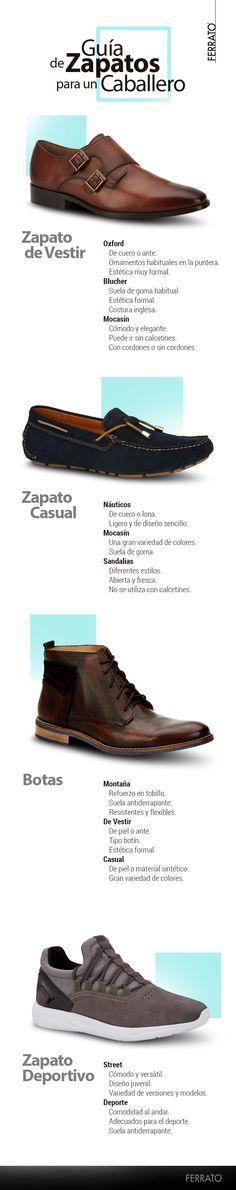 Guía de zapatos para un caballero | Los 4 estilos de calzado que todo hombre debe tener.