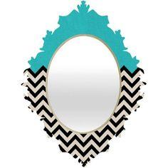 . Chevron Stencil, Chevron Bathroom, Cutting Edge Stencils, Home Decor Accessories, Decorative Accessories, Chevron Crafts, Baroque Mirror, Wall Mounted Mirror, Bricolage