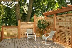 Privacy Screen Wall Deck Picture Gallery
