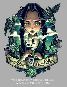 Wednesday Addams by Tim Shumate