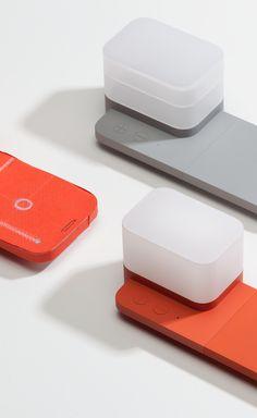 Block designed by BKID #Samsung #Block #Wireless Charger #Smart Light #Charger & Light #BKID #BKIDSTUDIO #송봉규 #bongkyusong Form Design, Design Case, My Design, Screen Design, Smart Design, Air Purifier, Minimal Design, Product Design, Industrial Design