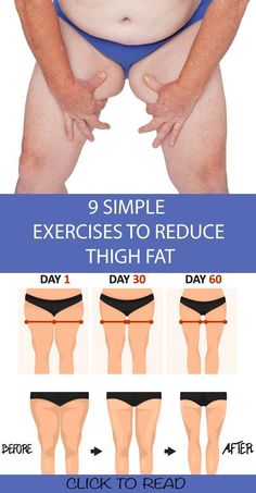 9 Simple & Best Exercises To Reduce Thigh Fat Fast At Home ! 9 Simple & Best Exercises To Reduce Thigh Fat Fast At Home ! Having fat or plump does mean that you cannot get rid of it , and also this sh Fitness Workout For Women, Fitness Tips, Body Fitness, Fitness Quotes, Fitness Style, Fitness Design, Fitness Journal, Fitness Fashion, Senior Fitness