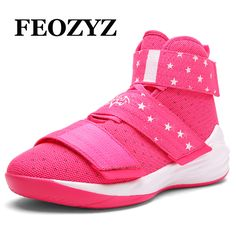 on sale 63c25 6151e FEOZYZ Brand New 2017 High Top Sneakers For Women Basketball Shoes  Breathable Sport Shoes Basketball Boots Basket Femme-in Basketball Shoes  from Sports ...