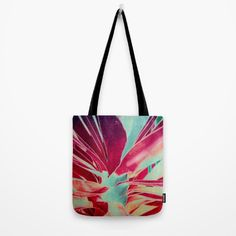 Vintage agava(2) Tote Bag #totebag #society6 #maryberg #textile #abstract #womendesign #navy #blue #orange #purple #tropical
