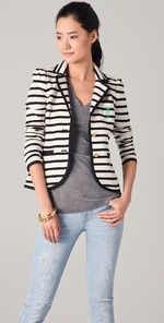 Striped   blazer!