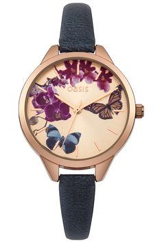 Sunray Watch | Blue | Oasis Stores